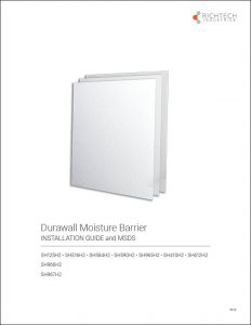 Durawall Installation Guide and MSDS