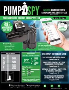 PumpSpy Battery Backup Prochure