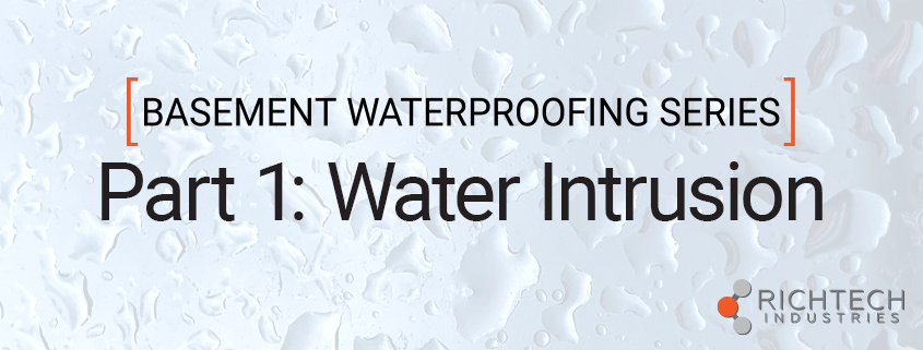 Water Intrusion graphic